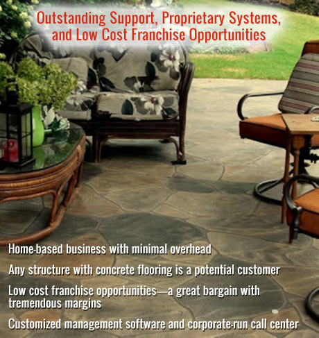 Outstanding Support, Proprietary Systems, and Low Cost Franchise Opportunities